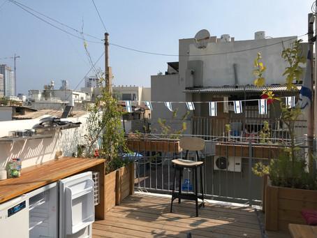 Erster Tag in Tel Aviv