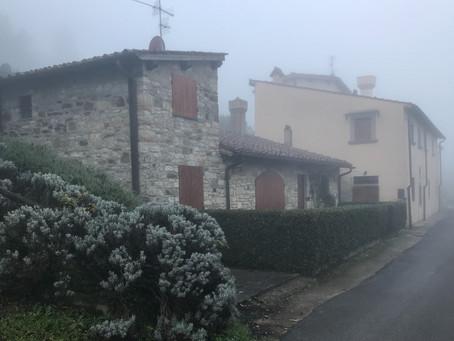 Marshmallows grillen in der Toskana