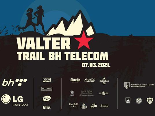Utrka Valter Trail – BH Telecom sedmog marta u Sarajevu