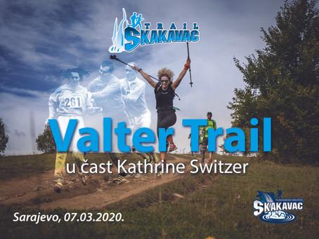Valter trail 07.03.2020. Utrka na 16km u čast Kathrine Switzer