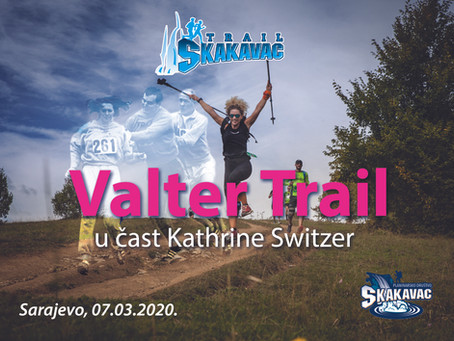 Valter Trail Sarajevo: Prvi trail u čast Kathrine Switzer