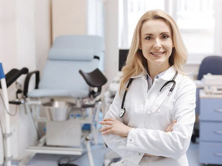 Осмотр гинеколога после родов