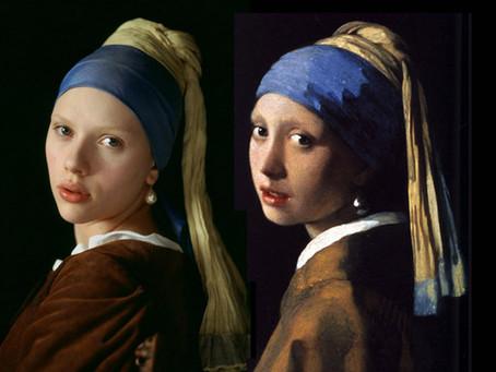 """Ян Вермеер """"Девушка с жемчужной сережкой""""."""