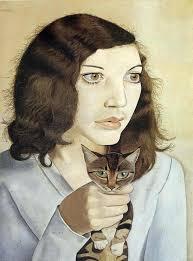 """""""Девушка с котенком"""" Люсьена Фрейда, почему она душит котенка?"""