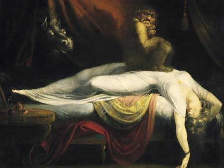 "Картина Фюссли ""Ночной кошмар"""