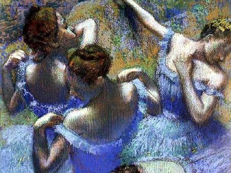 "Эдгар Дега. ""Голубые танцовщицы"""