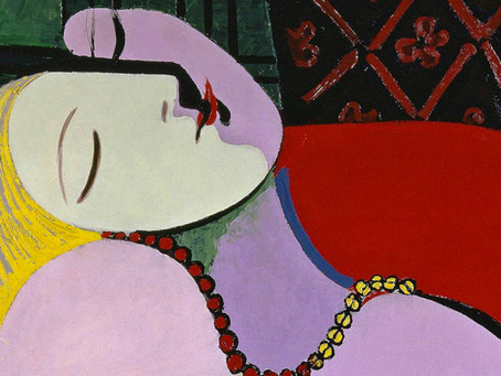 """""""Сон"""" Пабло Пикассо. О чем говорит валькирия?"""