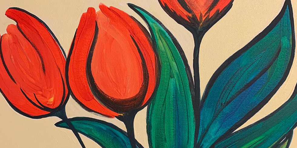 Red + Tulips