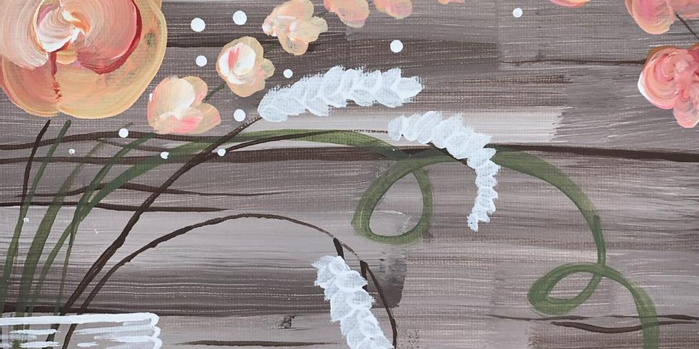 Wood + Flowers