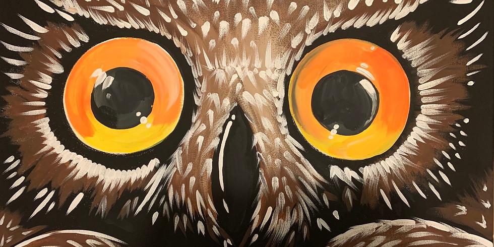 Bright Eyed + Owl