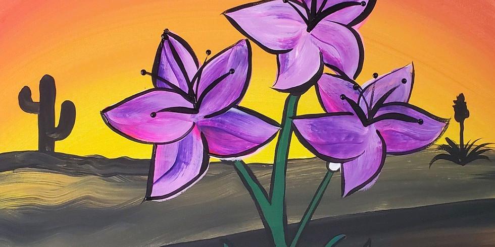 Desert + Flowers