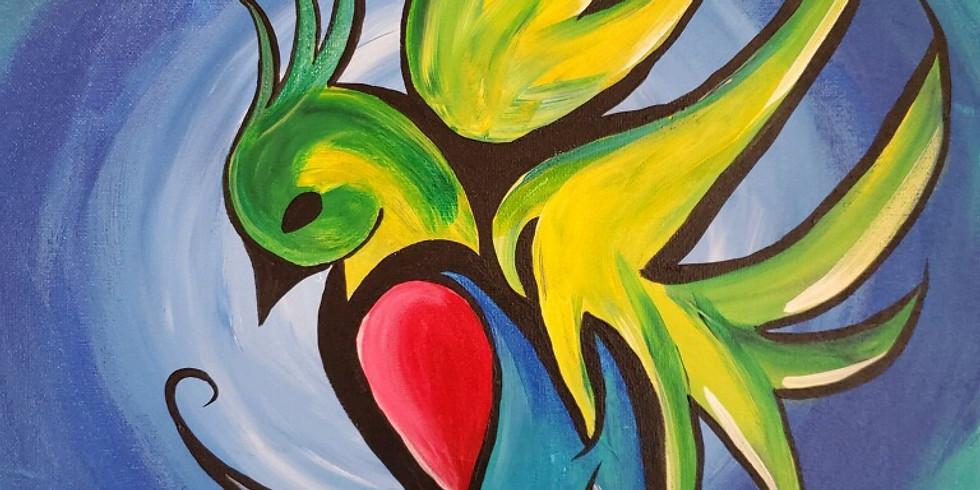 Quetzal + Bird