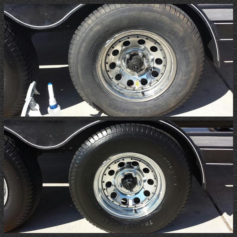 RV Wheel & Tire Detail