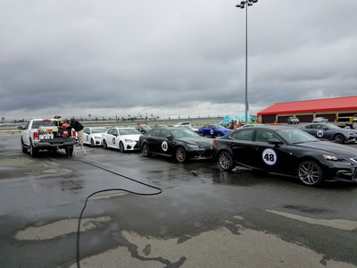 Lexus Event Fleet Washing