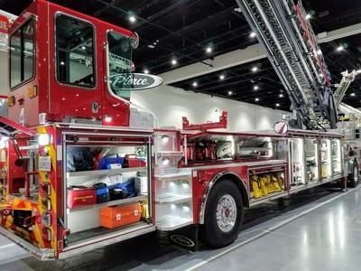 Fire Truck Fleet Washing