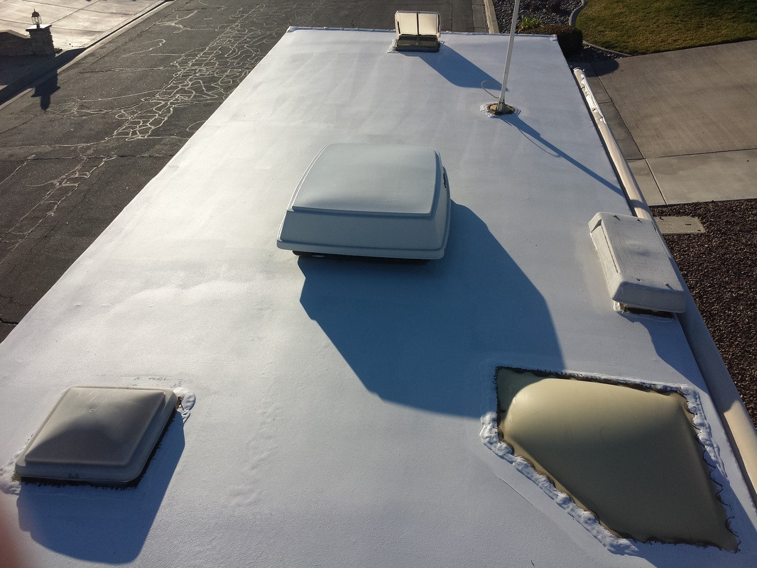 RV Roof Re-Coating