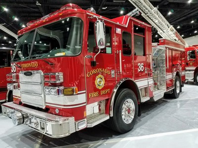 Fire Department Fleet Washing