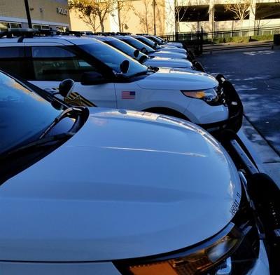 Police Department Fleet Washing