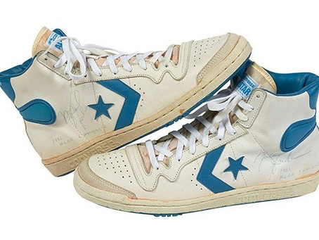 Converse usado por Michael Jordan