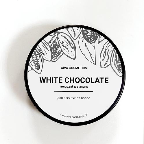 WHITE CHOCOLATE\твердый шампунь\упаковка стандарт