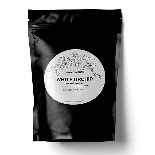 WHITE ORCHID | Твердый шампунь сменный блок