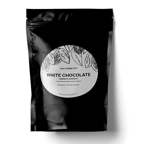 WHITE CHOCOLATE\твердый шампунь\упаковка эконом