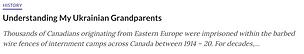 Understanding My Unkrainian Granndparent
