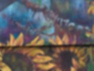 Sunflower Mural Michelle Loughery Sunflo