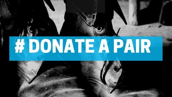 Mumbai's First Shoe Donation Drive #DonateAPair