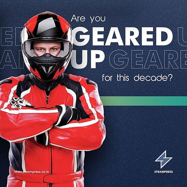 Gear up and gear up in style, for all th