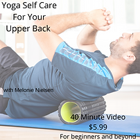 IG Yoga Self Care for your Upper Back .
