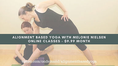 Alignment Based Yoga with Melonie Nielse