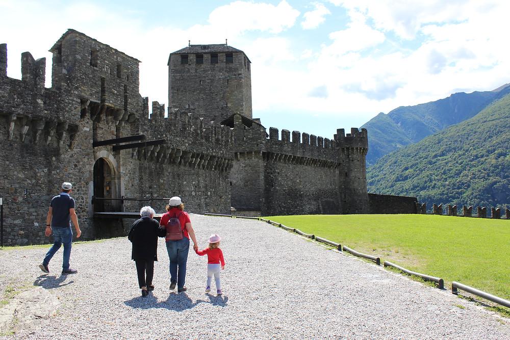 Castello Montebello, Bellinzona