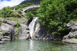 Le cascate di Santa Petronilla