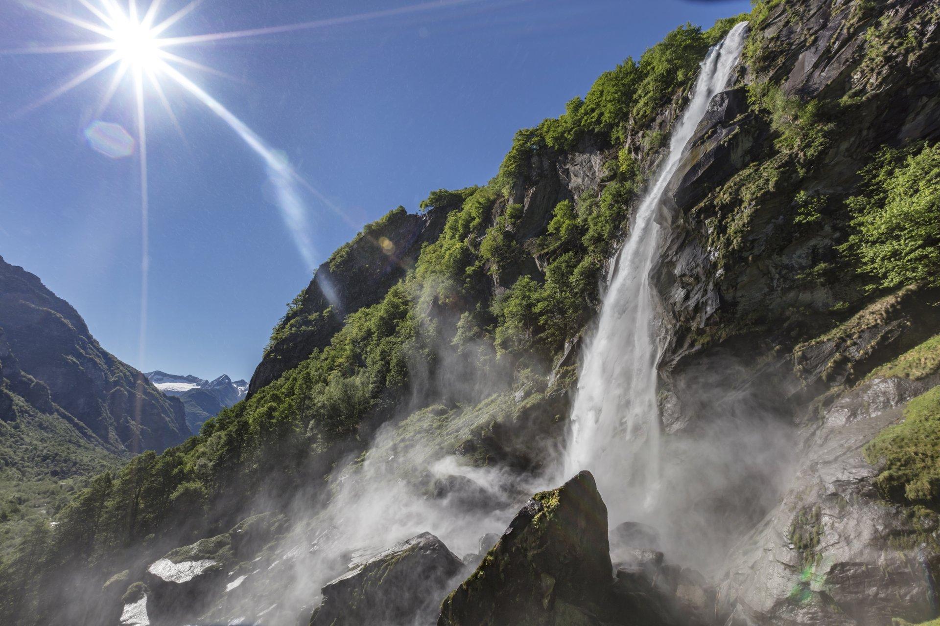 Cascata di Foroglio - Val Bavona