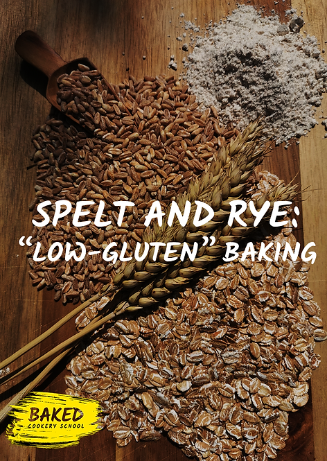 eBook - Spelt and Rye; Low Gluten Baking