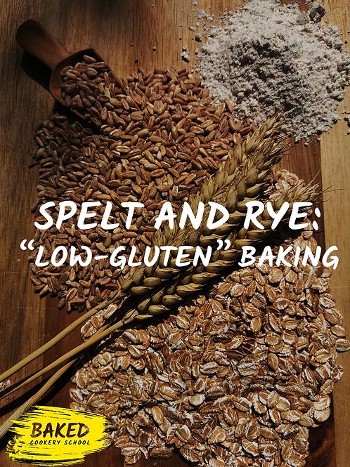 eBook - Spelt and Rye; Low Gluten Baking