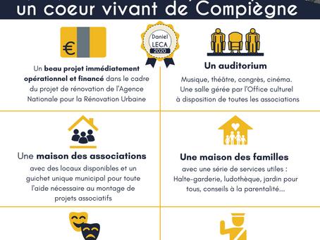 Le Puy du Roy : En refaire un coeur vivant de Compiègne !