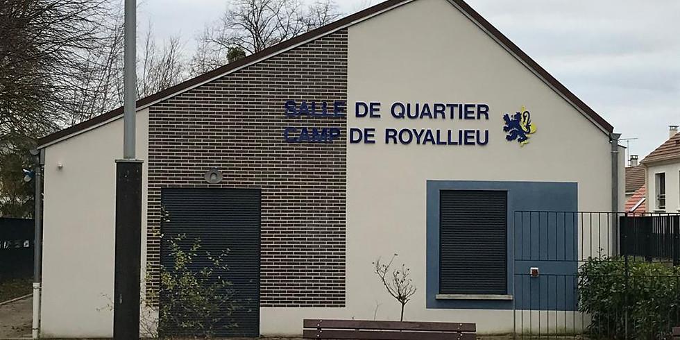 Réunion de secteur - Salle du Camp de Royallieu - Mardi 28 janvier