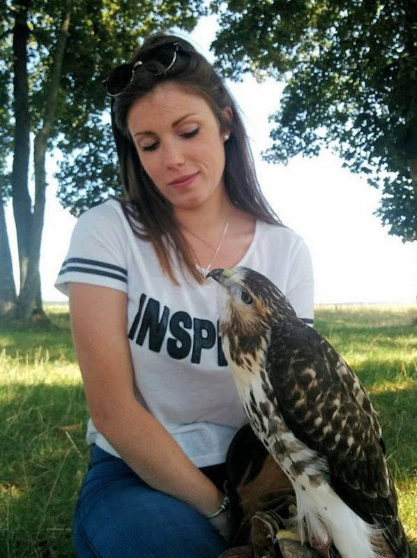 Rencontre avec un oiseau de chasse