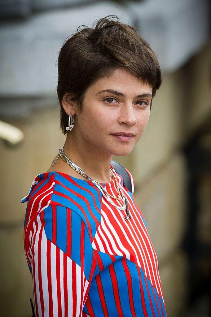 Alba Galocha y su look