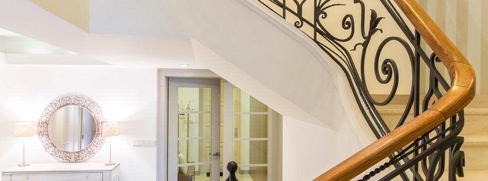Escadaria em mármore