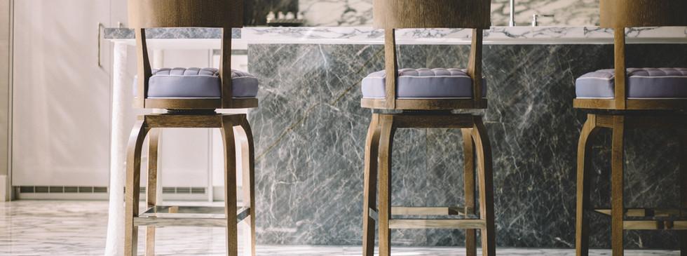 Balcão em mármore