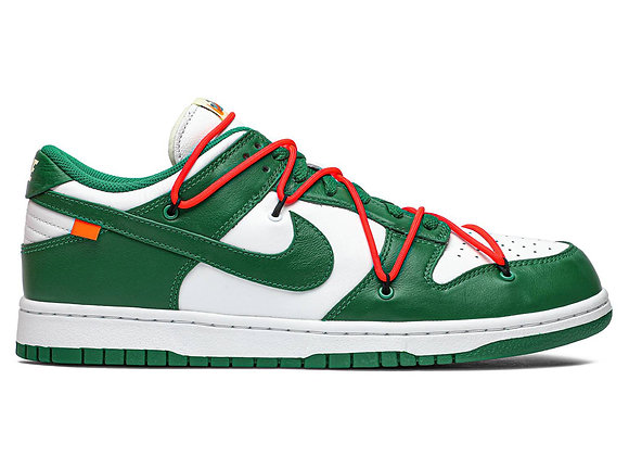 Off-White x Dunk Low 'Pine Green'