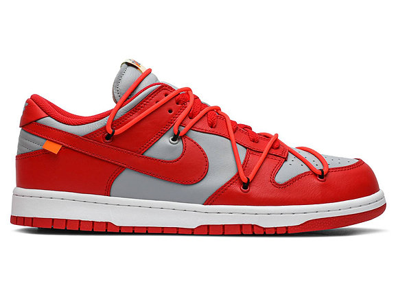 Off-White x Dunk Low 'University Red'