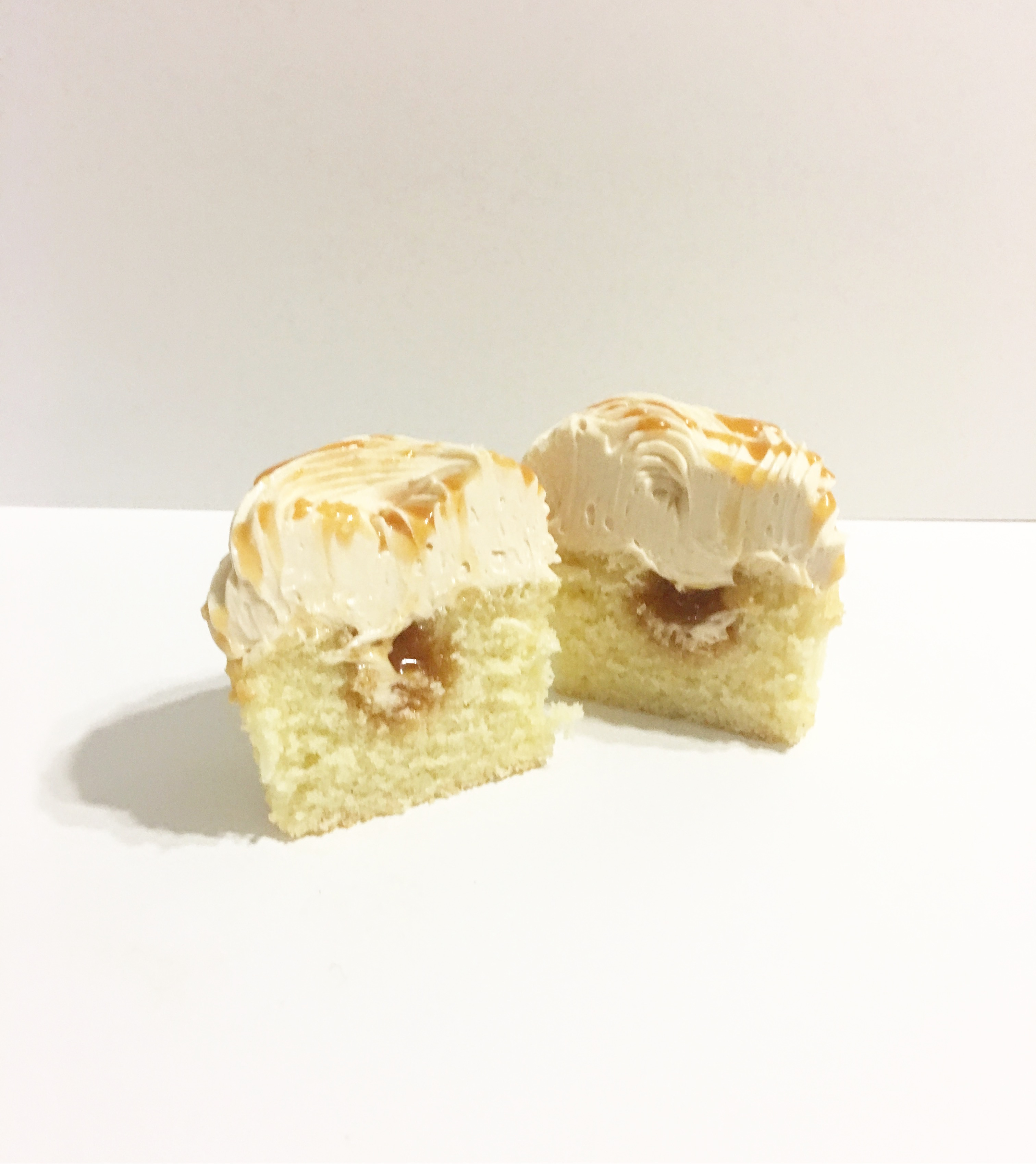 Hawaiian Sea Salt Caramel Cupcake