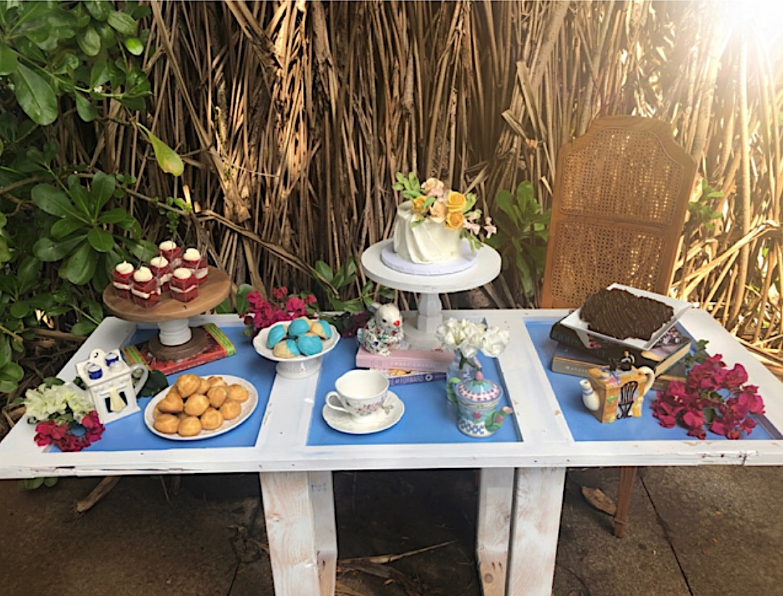 Wonderland Dessert Table