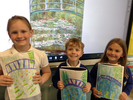 Artists in Year 2!
