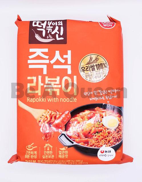 韓式辣年糕拉麵(二人份)