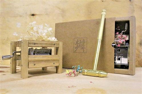 【木工】乾花音樂盒 材料工具包